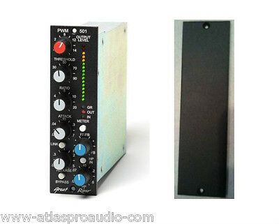 Great River PWM-501 Compressor/Limiter 500 Series Module & Free Blank Panel! New • 647.79£