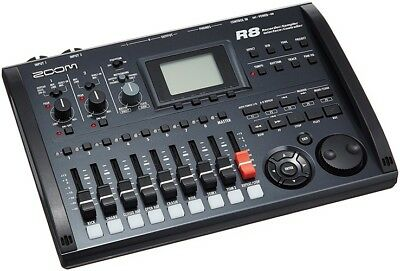 NEW!! ZOOM R8 Multi Track Recorder  Audio Interface From JAPAN Free Shipping • 177.76£