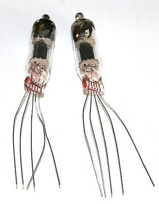 2 NOS TUBES LOW NOISE FOR PELUSO 22 251 Tube Microphone • 3.85£
