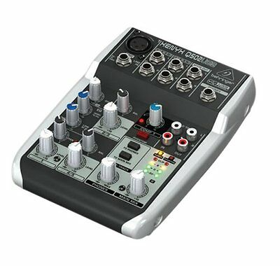 NEW BEHRINGER Behringer Q502USB Mixer Japan With Tracking F/S • 86.70£