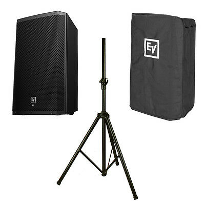 EV Electro-Voice ZLX-12P 1000W Active Speaker + Cover + Stand 3yr Warranty + Dsp • 429£