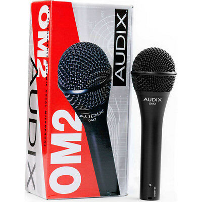 Audix OM2 Multi-Purpose Live Vocal Drums Guitar Dynamic Hypercardioid Microphone • 76.75£