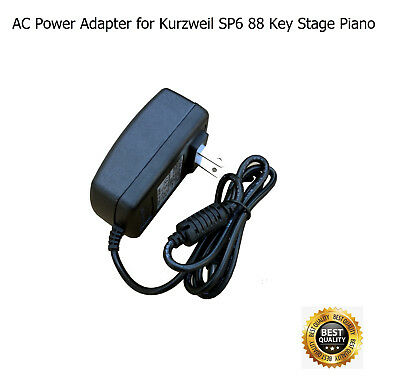 AC Power Adapter For Kurzweil SP6 88 Key Stage Piano SP-6 • 20.54£