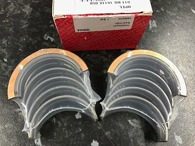 Vauxhall Opel C20XE C20LET 0.5 Mahle Main Bearings • 47.50£