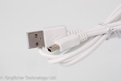 90cm USB Data / Charger Power White Cable For Numark DJ2GO2 DJ Controller • 3.99£