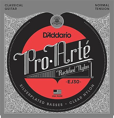 D'Addario EJ30 Classics Rectified Classical Guitar Strings, Normal Tension  • 9.10£