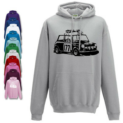 Classic Mini Cooper GT Hoodie Adults Sizes Lots Of Colours Available • 19.95£