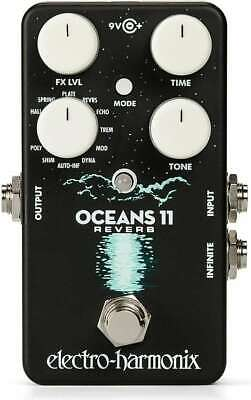 Electro Harmonix Oceans 11 Reverb Guitar Effects Pedal • 108.40£