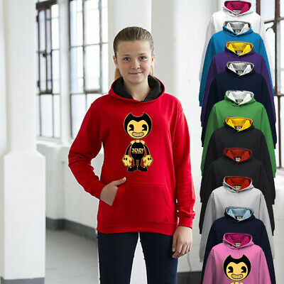 Bendy And The Ink Machine Childrens Hoodie Boys Or Girls Premium Quality • 24.95£