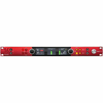 Focusrite Red 16Line 64 X 64 Thunderbolt 3 Audio Interface For Pro Tools • 2,423.45£