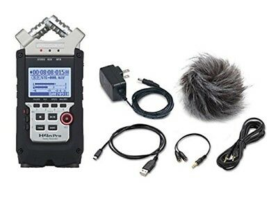NEW ZOOM H4n Pro+APH-4n Pro Handy Recorder+accessory Pack Set From JAPAN • 207.83£