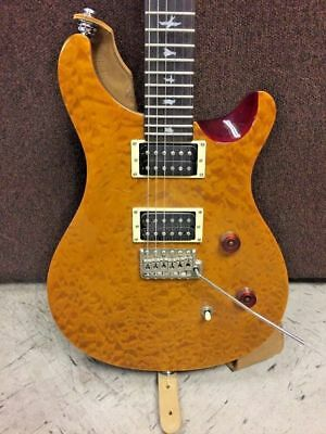 Paul Reed Smith PRS SE Custom 24 Amber 2010 Electric Guitar W/Strap • 844.13£