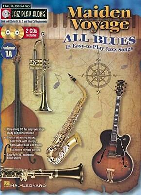 Jazz Play Along Volume 1A Maiden Voyage All Blues Easy Book/Cd (Hal Leonard • 17.74£