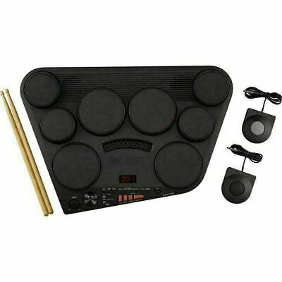 YAMAHA DD-75 Portable Digital Percussion 8 Pads 2 Pedals 2 Sticks From Japan F/S • 368.84£