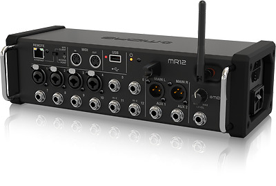 Midas MR12 12 Input Digital Mixer For IPad/Android Tablets With 4 Pro Preamps • 435.83£