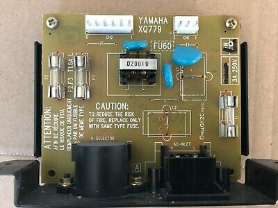 Genuine Yamaha  Clavinova CVP - CP300 FU60 Power Inlet Board Complete Unit • 14.95£