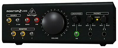 BEHRINGER MONITOR2USB High-End Speaker And Headphone Monitoring VCA Control A... • 206.15£