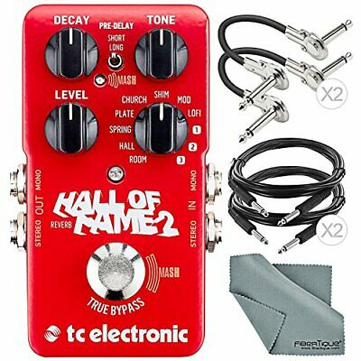 Photo Savings TC Electronic Hall Of Fame 2 Reverb Effects Pedal For Electric ... • 176.25£