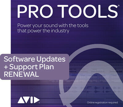 Pro Tools Support Renewal: Software • 94.80£