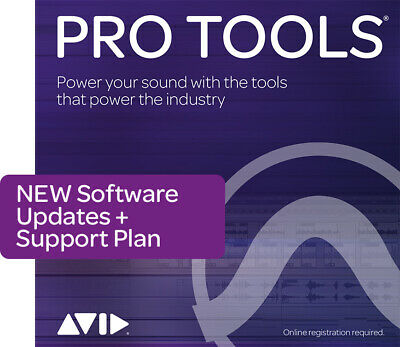 Pro Tools 1-Year Updates & Support: Software • 285£