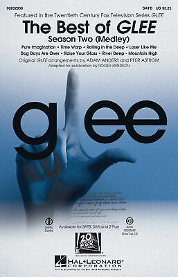 Glee Cast: The Best of Glee - Season Two: Mixed Choir a Cappella: Vocal Score