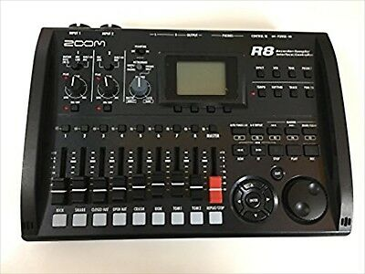 ZOOM Multi-Track Recorder R8 Japan Digital 24 Bit 48kHz Line XLR 2 Channel USED • 164.71£