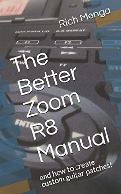 Menga Rich-Better Zoom R8 Manual (US IMPORT) BOOK NEW • 14.17£