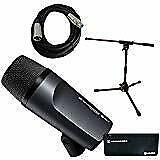 Sennheiser E 602-II Bass  Kick Drum Mic With Short Mic Stand & Cable Bundle • 200.79£