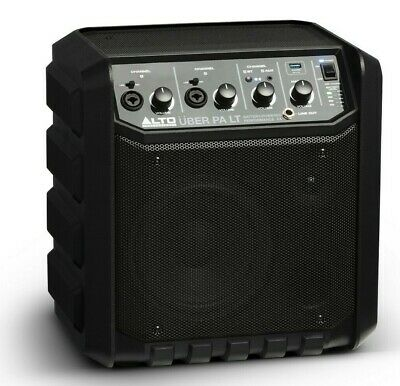 Alto UBER LT Portable Wireless 50W 6.5  Active Speaker PA System Ith Bluetooth • 125£