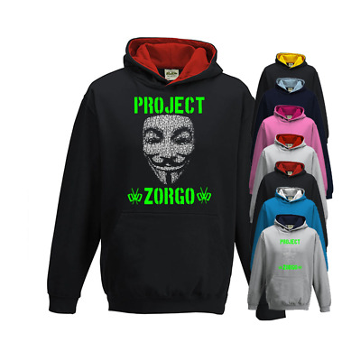 Project Zorgo Chad Wild Clay Hoodie, Youtuber Childrens Gaming Hoodie • 25.95£
