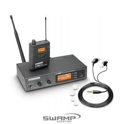 LD Systems MEI1000G2 B5 Wireless In-Ear Monitoring Performance System • 290.92£
