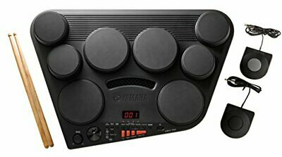 Yamaha DD75 Portable Digital Drums With 2 Pedals And Drumsticks - Power Adapt... • 150£