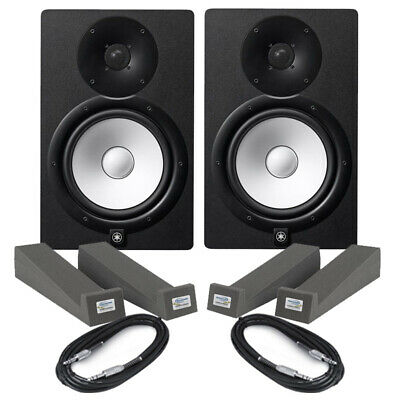 Yamaha HS5 (Pair) With Isolation Pads & Cables • 290£