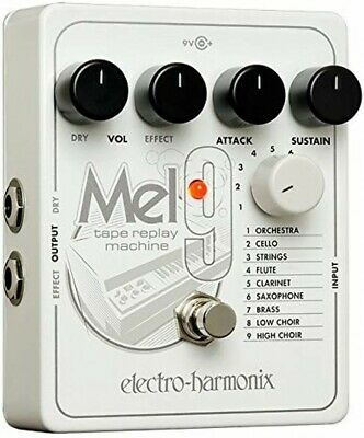 NEW Electro-Harmonix MEL9 Effects Pedal Tape Replay Machine From JAPAN • 206.53£