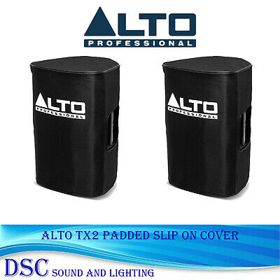 A Pair Of Alto Tx210 Padded Slip On Covers To Fit Tx210 Speakers  • 55£