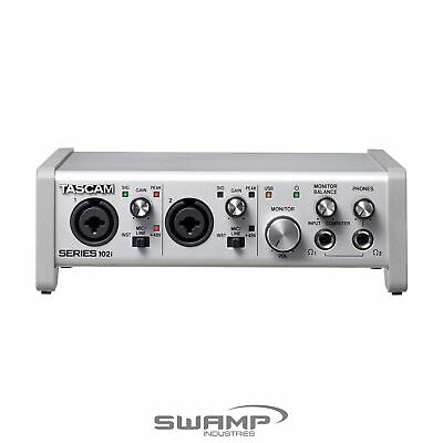 TASCAM Series 102i 10-in 2-out USB Audio MIDI Interface With 2 Mic Preamps • 284.16£
