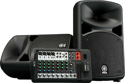 Yamaha Stagepas 600BT Portable 680 Watt PA Sound System With Mixer And Bluetooth • 725.07£