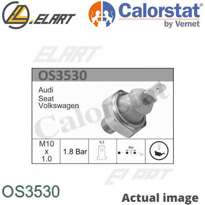 Oil Pressure Switch For Audi Vw Seat 80 81 85 B2 Ep Sa Dt Sf Calorstat By Vernet • 6.95£