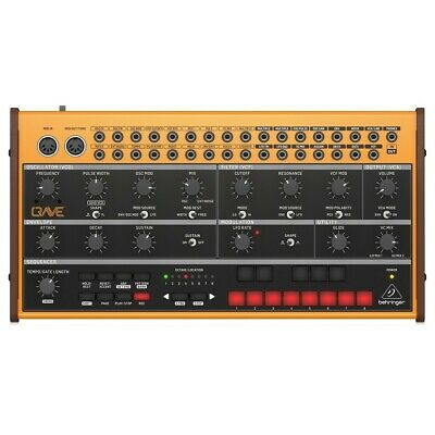 Beringer Crave Analog Synthesizer / Sequencer * 2 Year Warranty • 189£