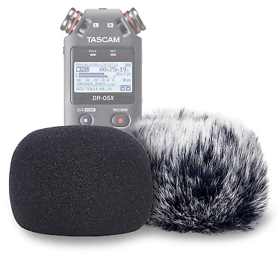 DR05X Windscreen Muff And Foam For Tascam DR-05X DR-05 Mic Recorders, DR05X Wind • 22.37£