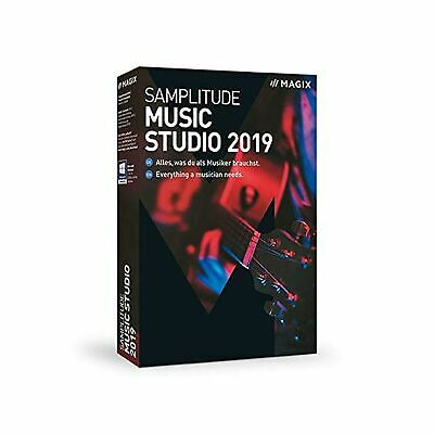 Magix UK Samplitude Music Studio Version 2019 The Complete Software Studio Fo... • 100.05£