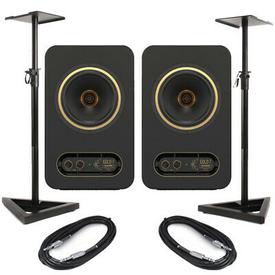 Tannoy Gold 7 (Pair) With Stands & Cables • 348£