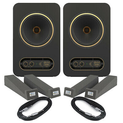 Tannoy Gold 8 (Pair) With Isolation Pads & Cables • 397£