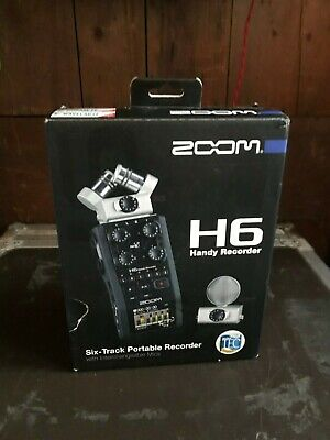 ZOOM H6 Handy Recorder: Six Track Portable Recorder • 165£