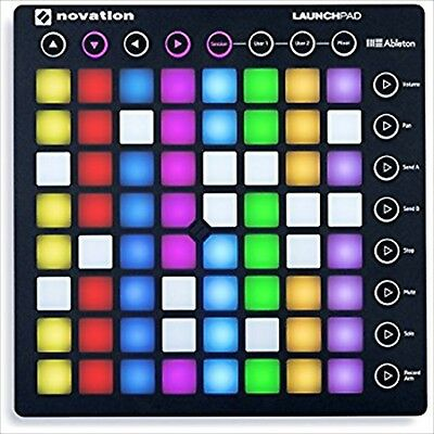 Novation Performance Ableton Live Controller Launchpad MK2 RGB LED Mounted Used • 116.77£