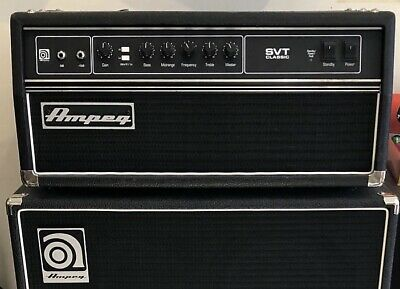 Ampeg SVT-CL Classic Head With Ampeg Protection Cover • 1,095£