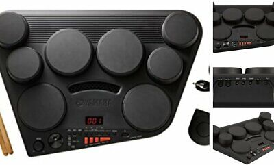 Yamaha DD75 Portable Digital Drums With 2 Pedals And Drumsticks - Power  • 247.46£