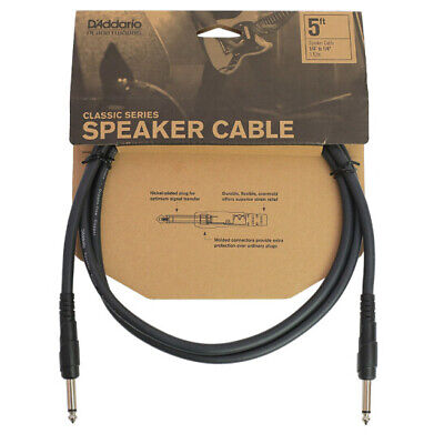 Planet Waves Classic Series Speaker Cable, 5 Feet PW-CSPK-05 • 9.95£