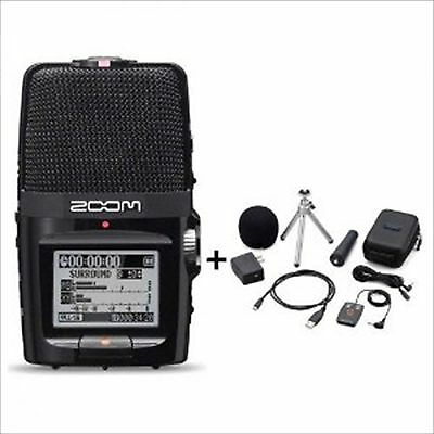 ZOOM H2n Handy Portable Recorder PCM / Accessoary Kit APH-2n Digital Multitrack • 177.49£