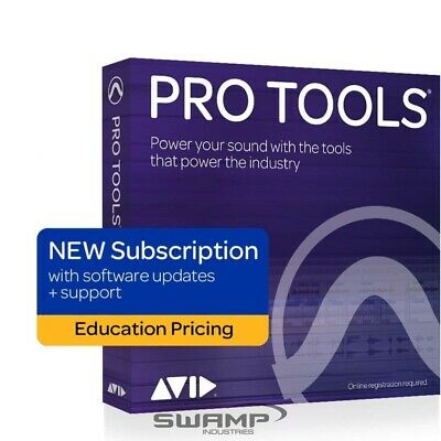 Avid Pro Tools 1-Year Licence - DAW - Education - Fast Electronic Delivery • 77.04£